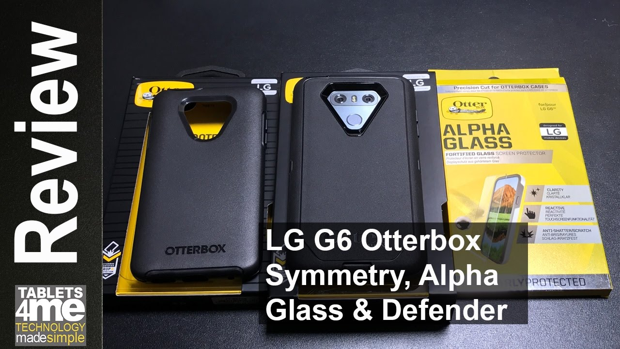 various colors 9a8b9 6831f LG G6: Otterbox Symmetry, Defender & Alpha Glass (Best Screen Protector)