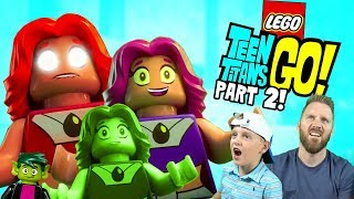 Starfire Clones, Teen Titans Go! LEGO Dimensions Gameplay Part 2!