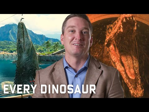 Every Dinosaur In 'Jurassic Park' Series Explained | WIRED