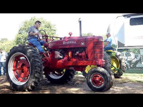 2017 Bethlehem Fair Antique Tractor Pull'n - Class: 5500 lbs