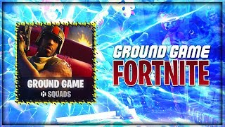 "Fortnite Ground Game ""Fortnite New LTM Mode"" (Fortnite New LTM Ground Game Gameplay)"