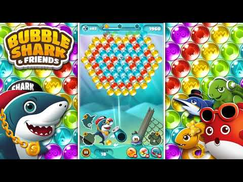 [mobile Game] Bubble Shark & Friends