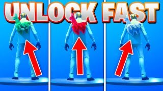 "FASTEST Weg, um alle ""CRYSTAL"" zurück Blings in Fortnite freischalten! (Ruby & Diamond Crystal Backbling!)"