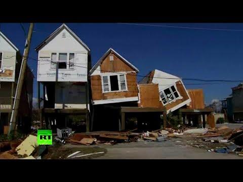На США обрушился ураган «Майкл»: погибли люди, разрушена база ВВС