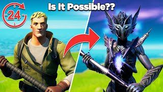 Is It Possible to Unlock Spire Assassin in 24 Hours Without Buying Any Tiers?? - Fortnite Experiment