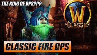 Classic WoW Fire Mage DPS