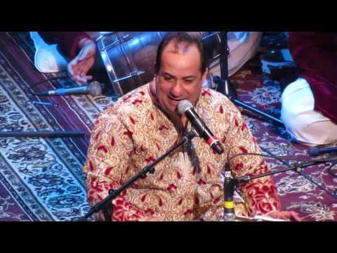 Rahat Fateh Ali Khan singing Main Tenu Samjhawan Ki Live (Virsa)