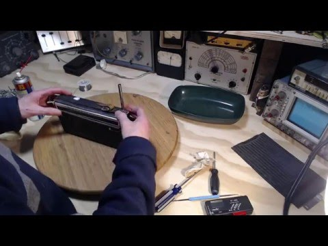 Sharp AM/FM Transistor Radio - Checkout and Repair