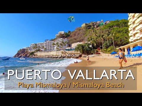 Playa de Mismaloya, Jalisco, México, recorrido completo (12/2019) Mismaloya Beach, complete tour