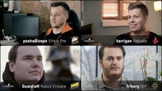 Life Of CSGO Pro Players: PashaBiceps, GuardiaN, Friberg and Karrigan ( MLG Columbus 2016 )