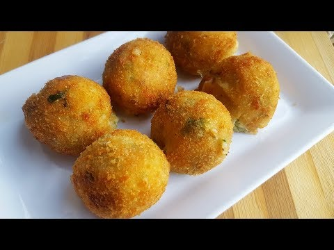 Potato Cheese Balls (Ramadan Special) by YES I CAN COOK