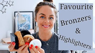 Top 5 Clean Beauty Bronzers & Highlighters / Natural Organic Makeup