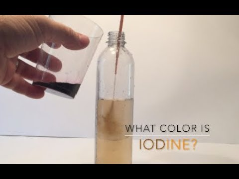 iodine in hexane coloring pages - photo#3