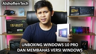 Unboxing Windows 10 Pro Dan Membahas Versi Windows