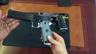 Gambar cover Türkiye de tek ve ilk tanıtım videosu...  SVI 45 Acp tabancaların tanıtımı