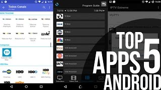 Top 5 Apps para Assistir TV Grátis no Android - 2016 (Top 5 Apps to Watch TV Online on Android)
