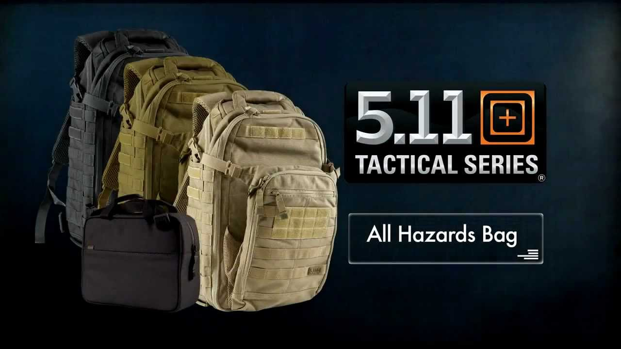 5 11 all hazards backpack youtube