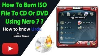 How to write DVD or CD by Nero Software  in Hindi, DVD yaa CD Kaise Write Karte Hai | Hassan Taimur
