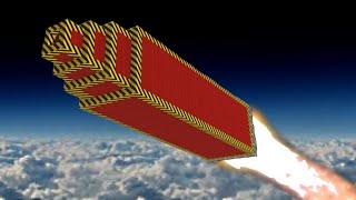 ROCKET CHALLENGE TO SPACE!? (Scrap Mechanic)