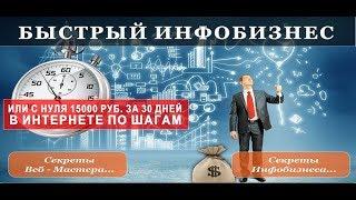 Заработок денег в интернете с нуля. Как быстро заработать деньги без вложений