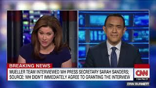 Sarah Sanders interviewed by Mueller's team in Russia probe.mp4