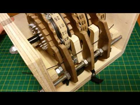 Enigma Machine Mechanism (feat. a