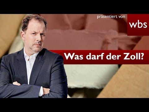 Was darf der Zoll? - Pakete abfangen, anlasslos durchsuchen...? | Rechtsanwalt Christian Solmecke