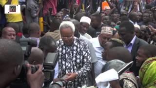 Sehemu ya matukio ya Lowassa alipotembelea masoko leo