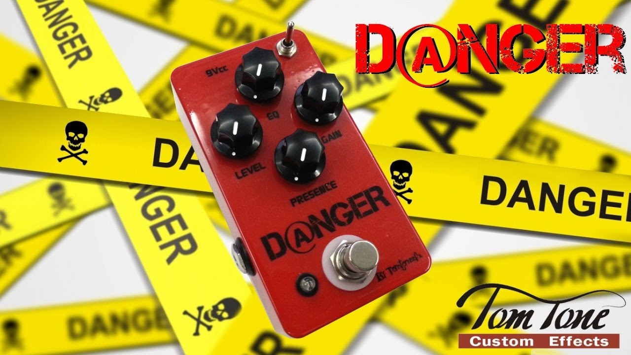 Review Tom Tone Danger Distortion played by Affonso Junior