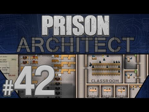 Prison Architect - Tazer Rollout - PART #42