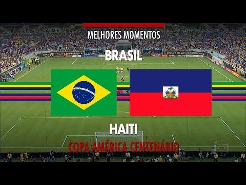 Melhores Momentos - Brasil 7 x 1 Haiti - Copa América Centenário - 08/06/2016