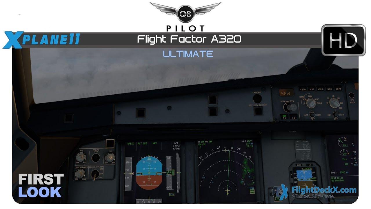 [X-Plane 11] Flight Factor A320 Ultimate | First Look | EDDL ✈ EDDH