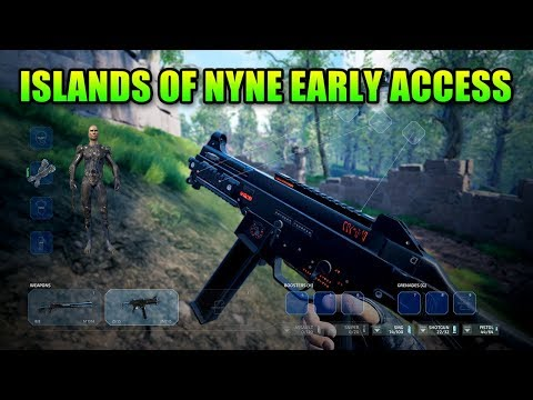 Islands Of Nyne Early Access Battle Royale Impressions