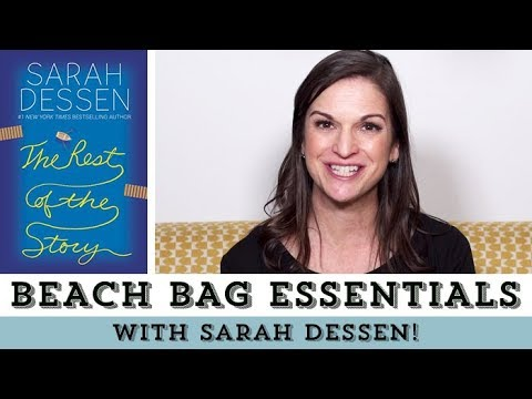 Sarah Dessen Reveals Her Summer Beach Bag Essentials ...