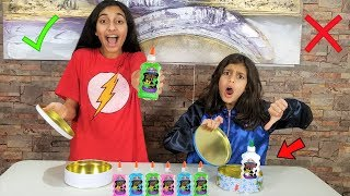 Don't choose the wrong Color Slime Challenge!!!!