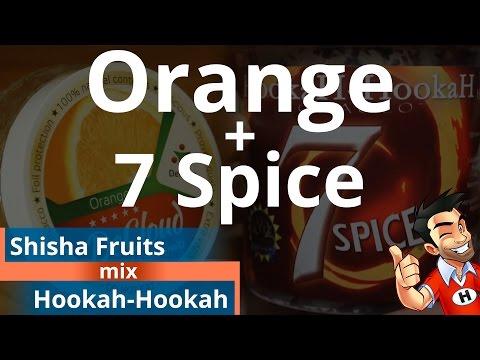 Shisha Fruits Orange + Hookah-Hookah 7 Spice Shisha Mix