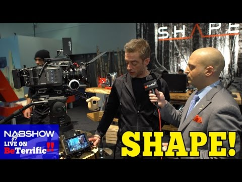 SHAPE Camera Rigs and Production Equipment at NAB 2016!