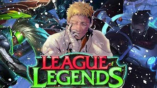 Never Give Up! League of Legends Christmas LiveStream!
