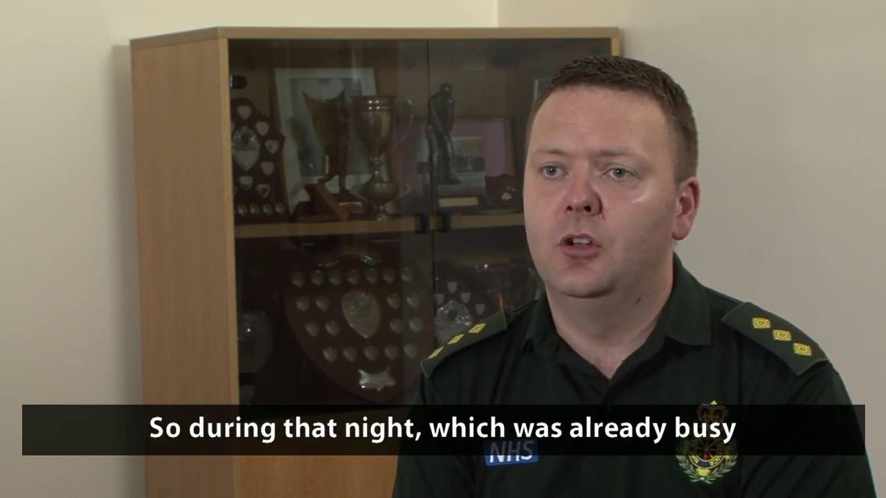 Download Interview with Oliver Mayor, Operational Commander for NWAS
