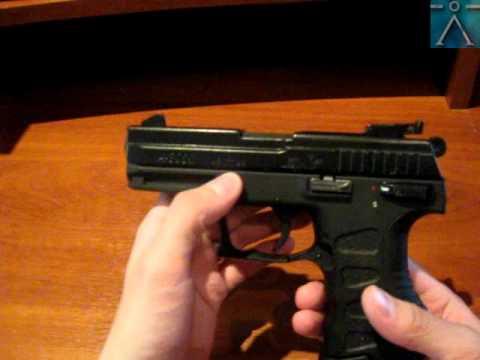 Пневматический пистолет Anics A-111 4.5mm BB - YouTube