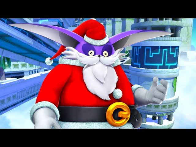 Sonic Forces Speed Battle - SANTA BIG GAMEPLAY! (HD Widescreen)