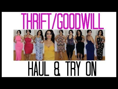 | THRIFT/GOODWILL | SUMMER DRESSES | HAUL & TRY ON | #SUMMERTIME FINE