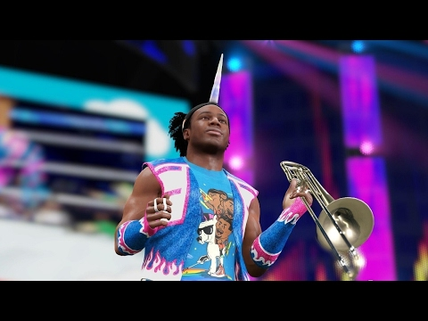 Xavier Woods Nerds Out Over WWE SuperCard - IGN Plays