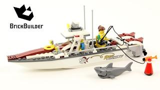 Лего Сіті 60147 рибної ловлі швидкісний катер побудувати для колекціонерів - колекція Великі засобами (32/48)