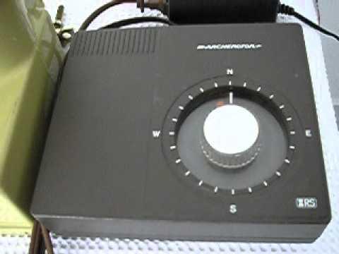 Antenna Rotor Wiring Diagram Radio Shack Rotor Youtube