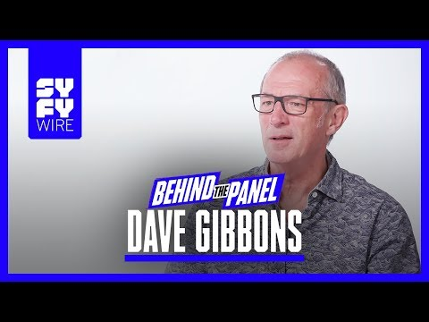 Watchmen Artist Dave Gibbons on Alan Moore & Character Origins (Behind The Panel) | SYFY WIRE