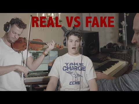 REAL VS FAKE Violin Sound: Can you hear the difference?