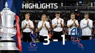 Tottenham 3-1 Bolton - Bale goal & Official FA Cup Sixth Round highlights   FATV