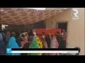 حشود تشيع التونسي الذي قتل في الكامور بولاية تطاوين
