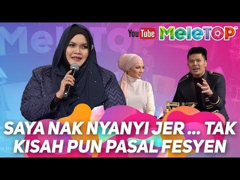 Saya nak nyanyi jer ... tak kisah pun pasal fesyen   Aishah Juara GV 2017